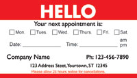 Medical Appointment Cards - Doctors appointment cards