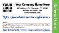 Referral Appointment Card Templates - Referral Appointment ...